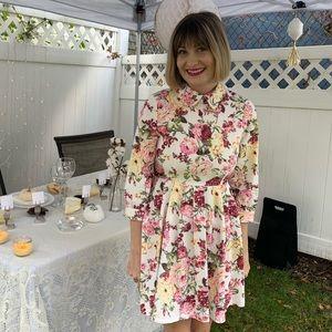 Sister Jane Botanical Print Dress